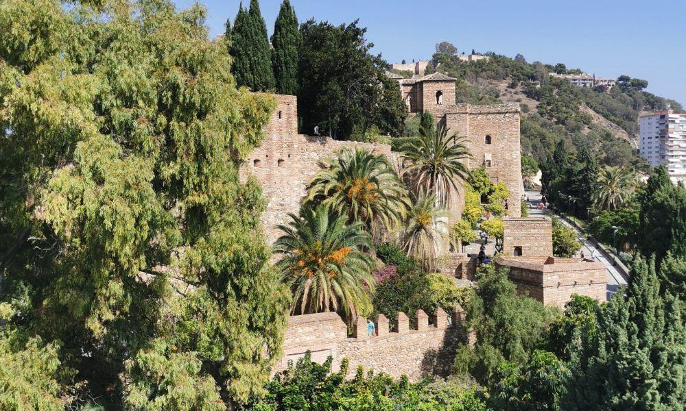 Malaga's Moorish Fortress