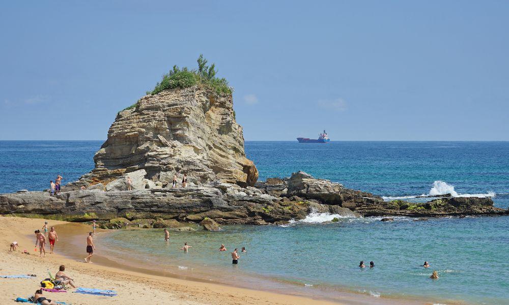 Playa Camello, Santander