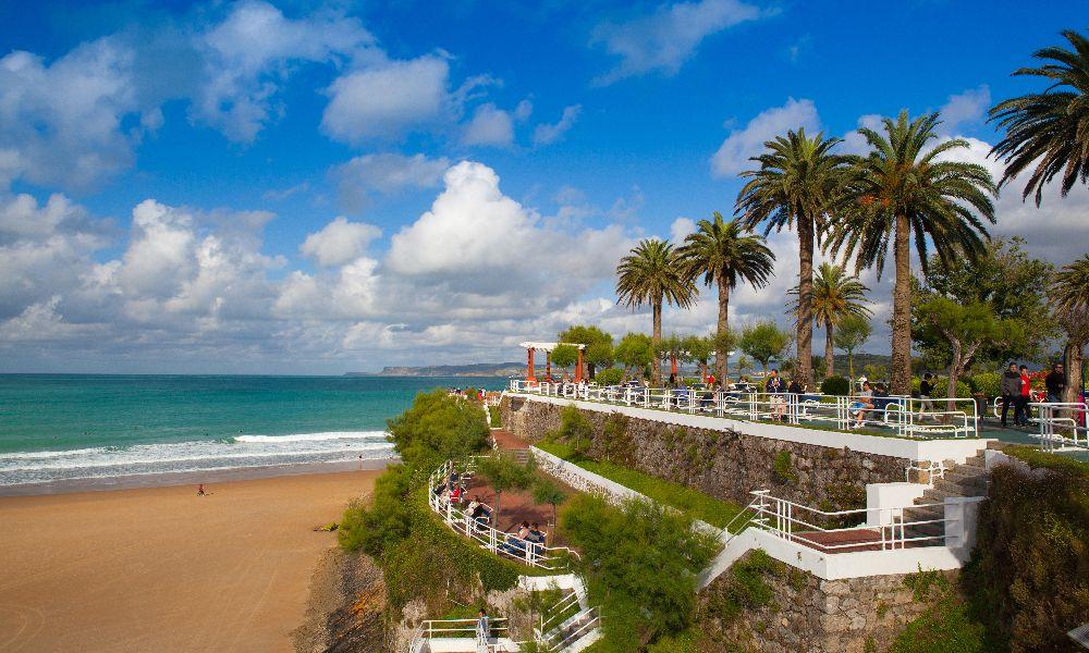 First Sardinero Beach in Santander
