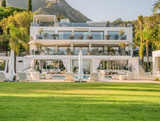 Villa Talaia contemporary designer villa Marbella