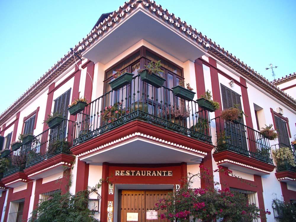 La Alcaria de Ramos Restaurant Exterior Balconies