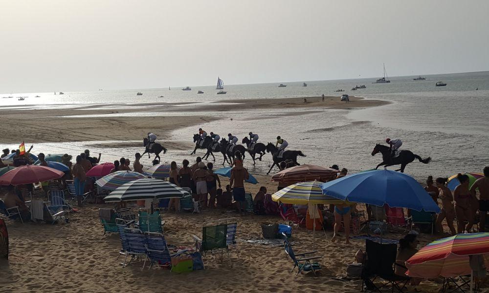Beach Horse Racing in Sanlucar de Berrameda