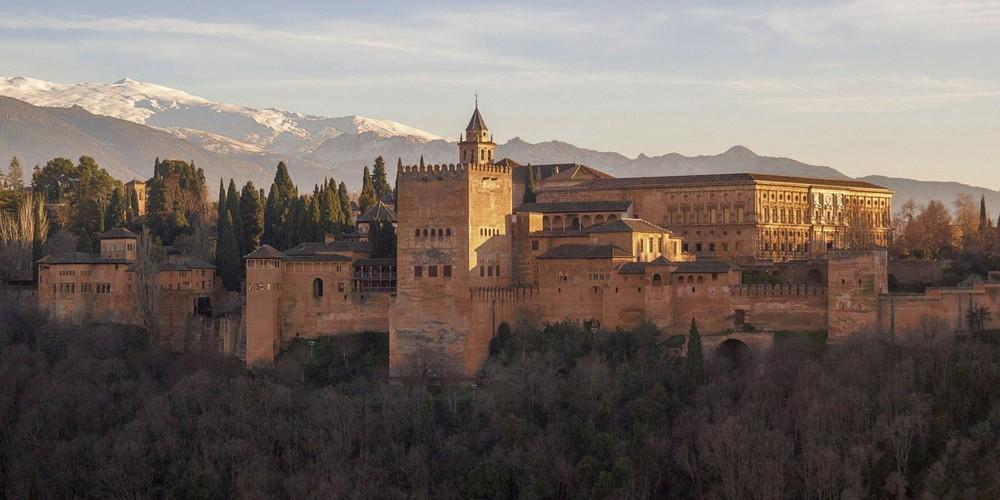 Alhambra Palace in Granada, Spain