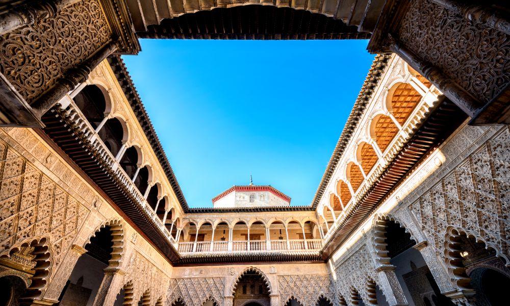 Patio de las Doncellas, Real Alcazar, Seville