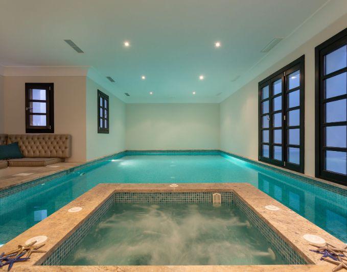 Villa Chantay Indoor Pool and Jacuzzi