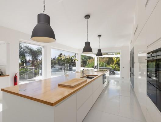 3 Villa Ibizenco Luxury Villa Marbella designer kitchen