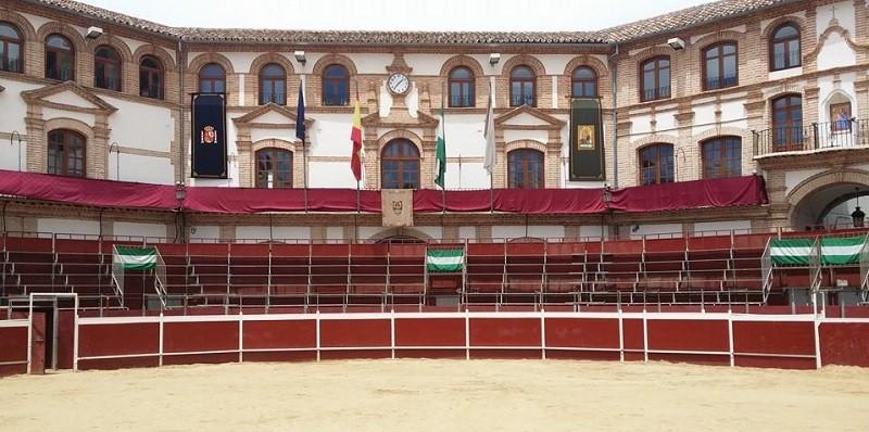 Bullring in Plaza Ochavada, Archidona